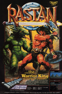 Rastan+arcade+game+portable+art+flyer