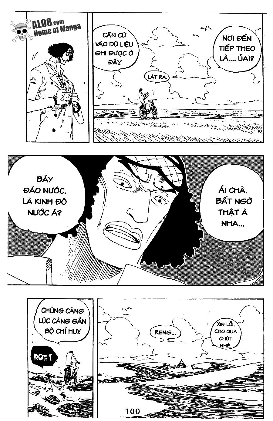 One Piece Chap 321
