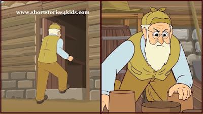 Mr. McGregor & Peter Rabbit short story