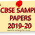 CBSE Class 12 Sample Papers 2020 with Solution in PDF