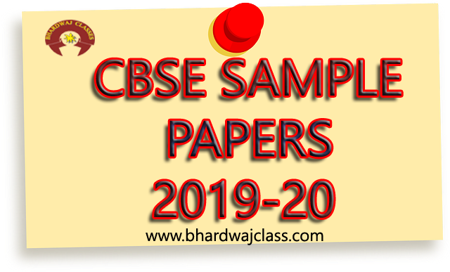 CBSE Class 10 Sample Papers 2020 with solutions