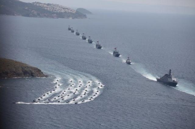 Αθήνα-Άγκυρα: Αντάλλαξαν «μηνύματα» μέσω NAVTEX, κράτησαν τα πλοία μακριά