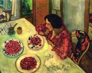 Morangos - O Surrealismo glorioso de Marc Chagall