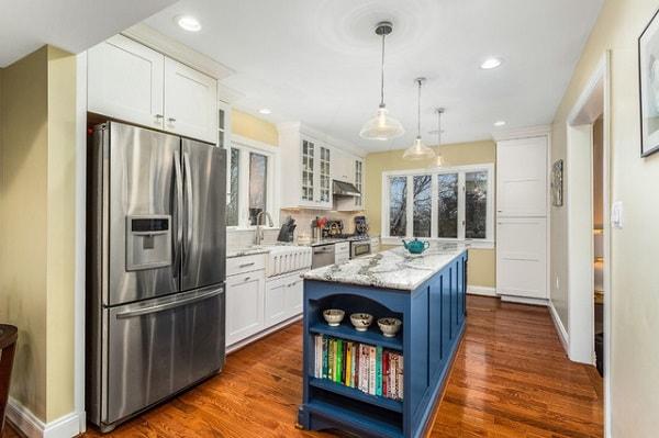 10 cách thiết kế phòng bếp đơn tường giúp tận dụng tối đa