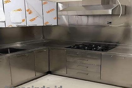 Kitchen Set Stainless Menerima Layanan Seluruh Jabodetabek