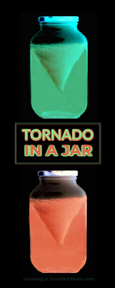 AMAZING SCIENCE: Make a glow-in-the-dark tornado in a jar!