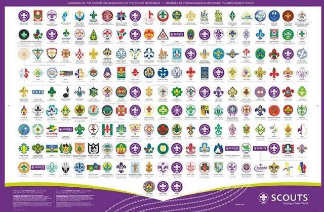 lambang pramuka dunia