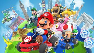 لعبة  Mario Kart Tour الرائعة على الأندرويد و iOS