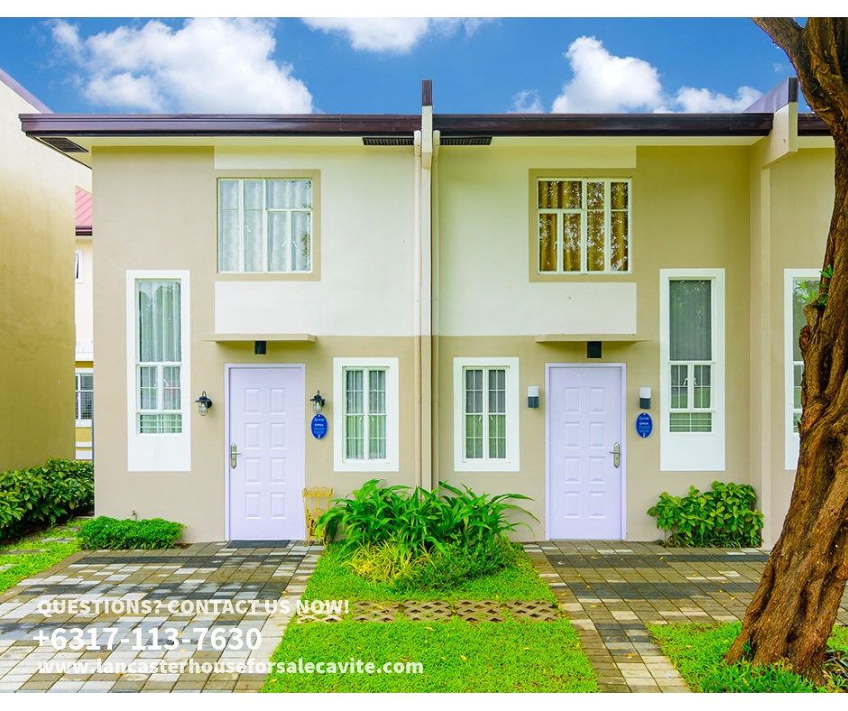 Emma At Lancaster New City Cavite Cheap Houses For Sale Cavite