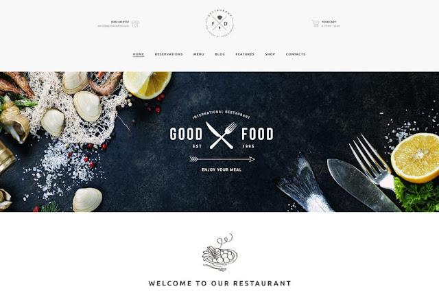 Food & Drink - An Elegant Cafe & Restaurant WP