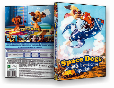 CAPA DVD – SPACE DOG FAMILIA DE CACHORROS ESPACIAIS – ISO