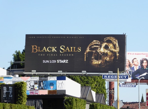 Black Sails final season billboard