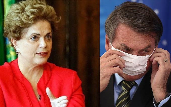 Bolsonaro, 'cúmplice da tortura e da morte', não merece confiança dos brasileiros, afirma Dilma