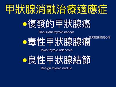 甲狀腺射頻消融治療適應症列表