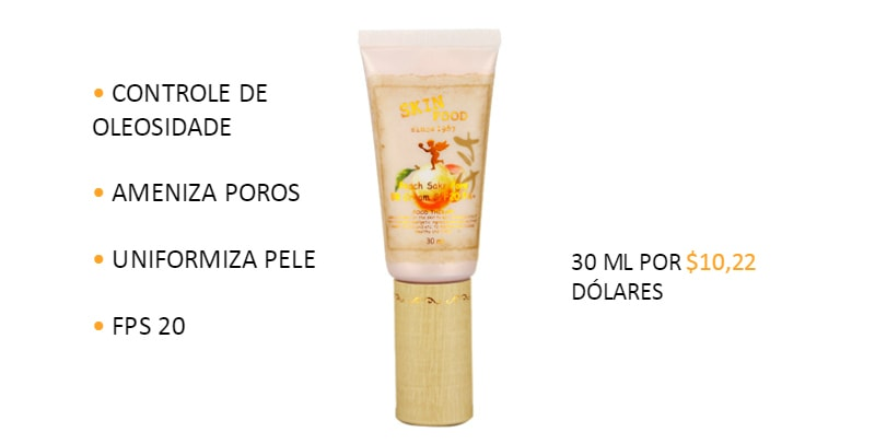 Skinfood BB Cream Peach Sake pore review