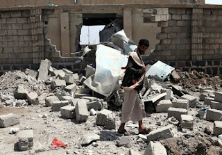 Saudi-led airstrikes kill 8 civilians in Yemen