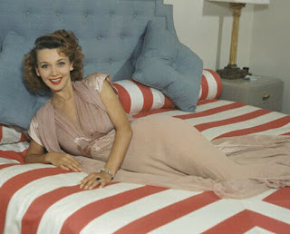 Carole Landis In Bed