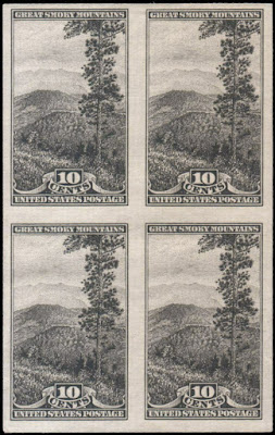 Great Smoky Mountains, National Park Block of 4