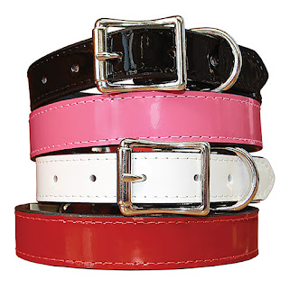 MANHATTAN PATENT LEATHER COLLAR