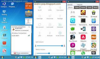 Cara Merubah Android Menjadi Windows 7 (Launcher)