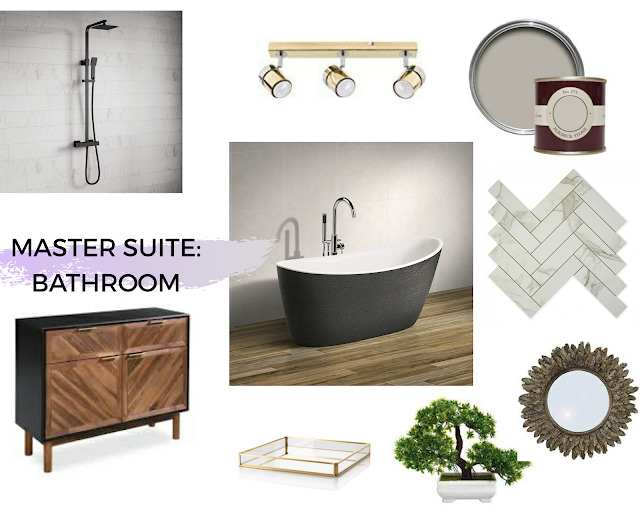 Master Suite Mood Board Ensuite Bathroom Victorian Home Renovation