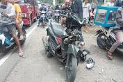 Dump Truck Tabrak Lari Sepeda Motor di Kopang Loteng, Korban Meninggal di tempat