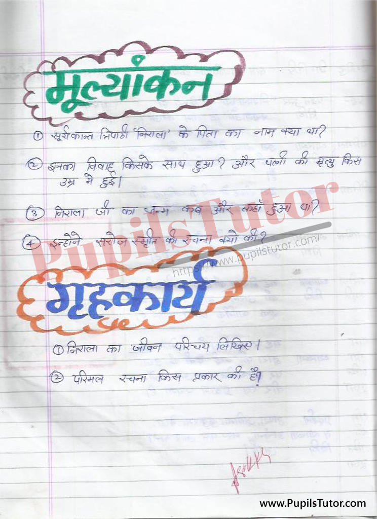 Disussion Lesson Plan in Hindi for B.Ed and DELEd