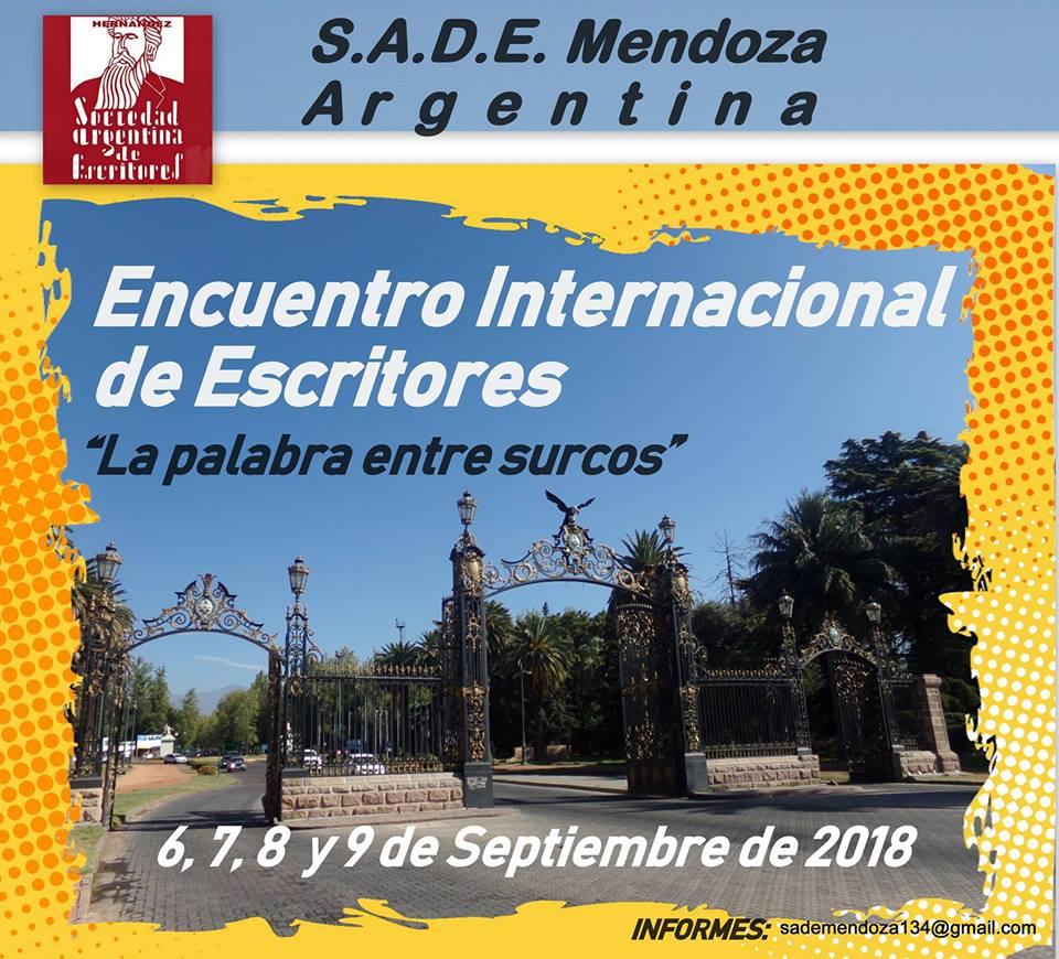 S.A.D.E. Mendoza: Encuentro Internacional de Escritores