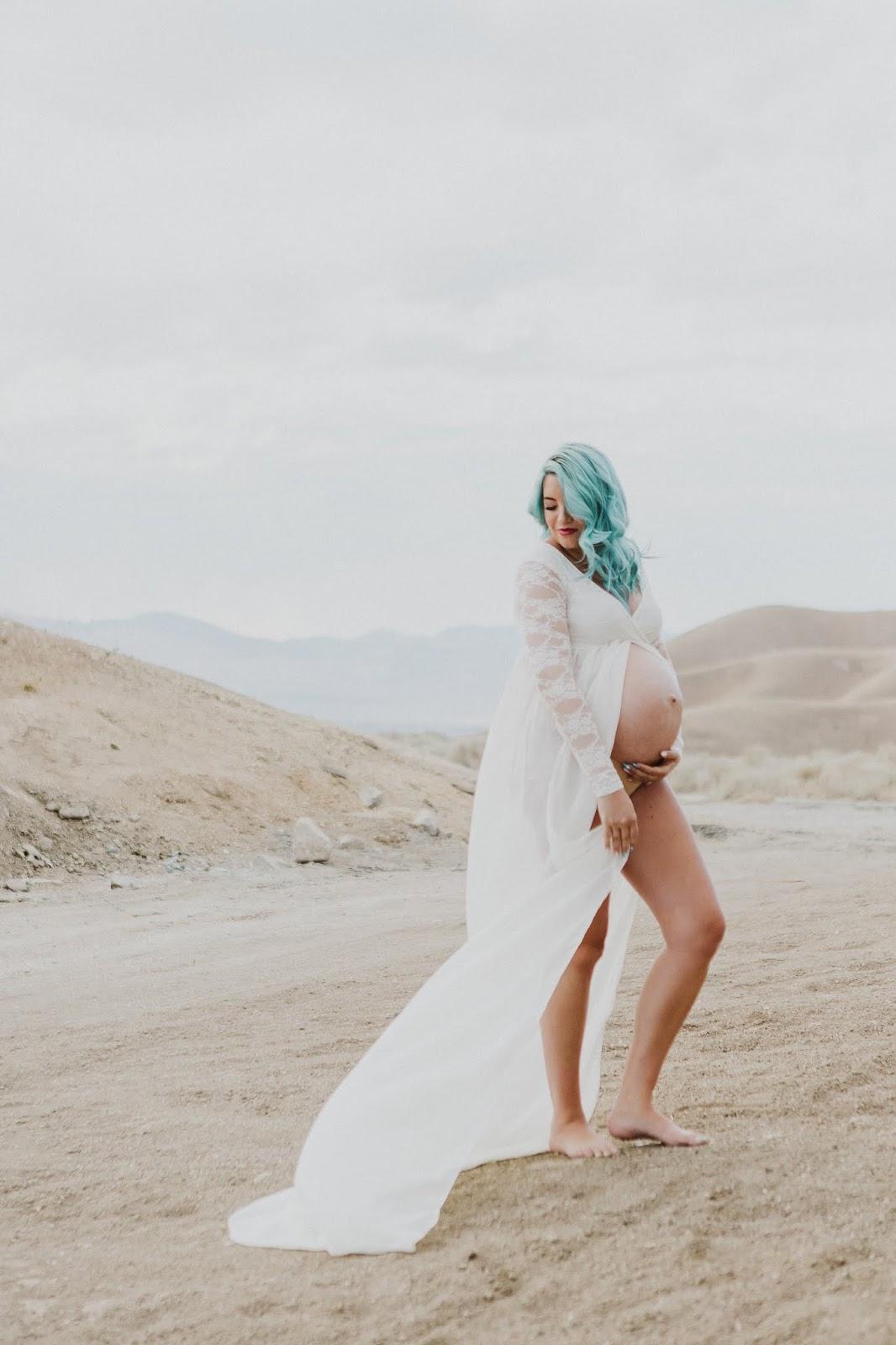 White Dress, White Maternity Dress, Maternity Style