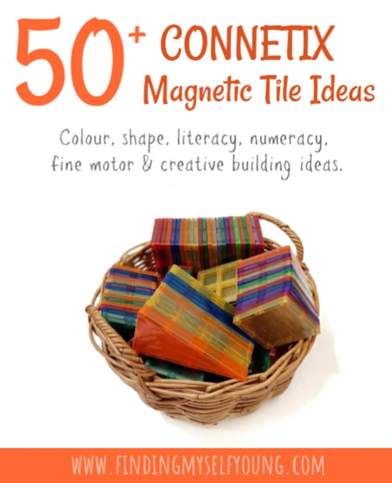50 magnetic tile play ideas with connetix