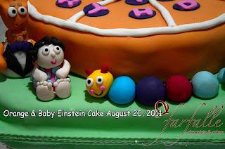 Farfalle Chocolate Amp Cakes Baby Einstein Cookie Amp Orange Cake
