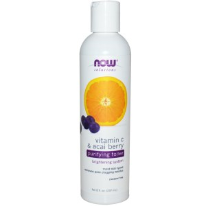 Now Foods Purifying Toner Vitamin C & Acai Berry