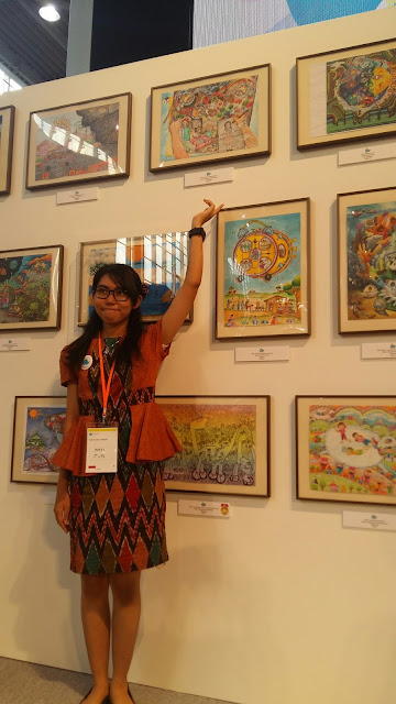 Putty finalis Toyota Dream Art Contest