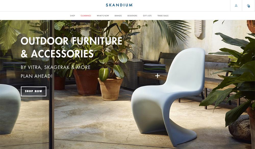 skandium design scandinavo online