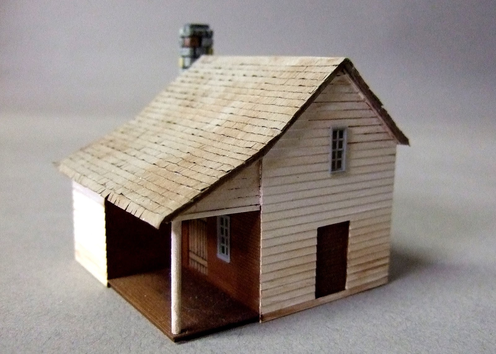 Floating White Bear 15mm Buildings Part 3