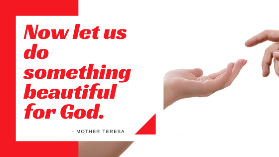 Now let us do something  beautiful for God.