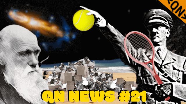 QN NEWS #21 - Hino Nazista, Beijos de Orangotango e Plástico