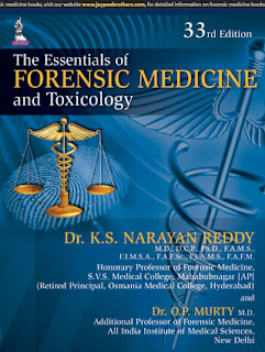 The Essentials Of Forensic Medicine And Toxicology - Narayana Reddy , Murthy pdf free download