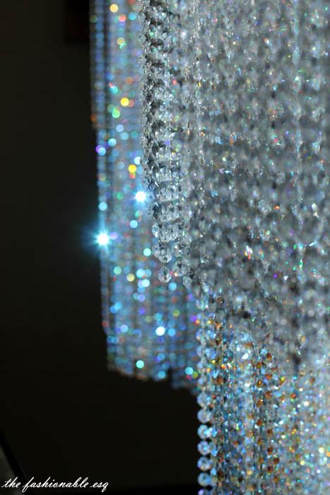 Swarovski crystals at sparkling hill resort