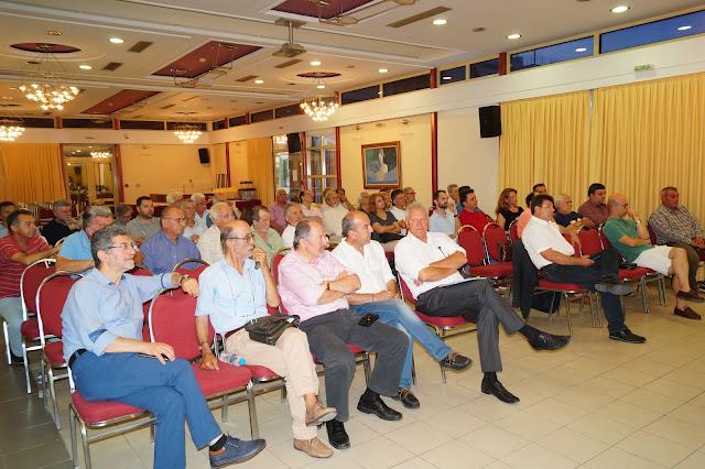 Η προσυνεδριακή εκδήλωση της ΔΗΜΟΚΡΑΤΙΚΗΣ ΣΥΜΠΑΡΑΤΑΞΗΣ Θεσπρωτίας (ΒΙΝΤΕΟ)