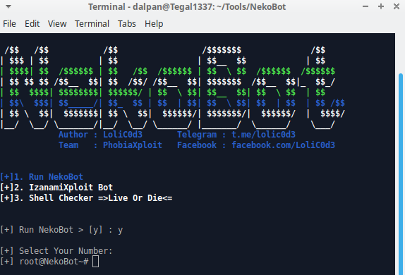 اداة أستغلال احتراق المواقع NekoBotV1   Auto Exploiter