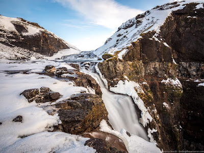 Glymur Waterfall Iceland_by_Laurence Norah-4