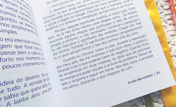 Livro: A Teia dos Sonhos, de Karine Aragão