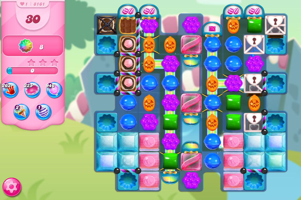 Candy Crush Saga level 8161
