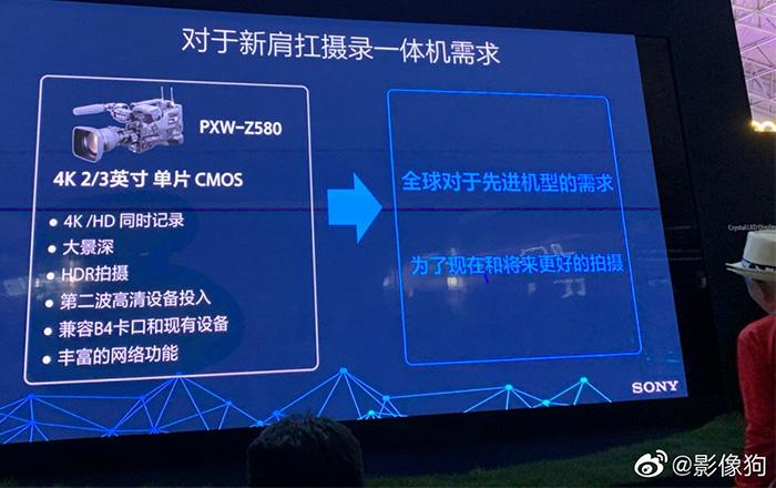 Презентация Sony PXW-Z750