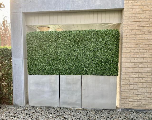 Kunsthaag kopen prijzen op aanvraag in Limburg Genk Hasselt Sint-Truiden Tongeren Landen Vlaams-Brabant voor buiten of binnen cactus hangend met bloemen outlet online in de shop of showroom en tegen muur of wand