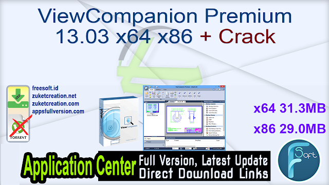 ViewCompanion Premium 13.03 x64 x86 + Crack