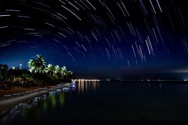 Resort Amari Havodda Maldive-night-startrail