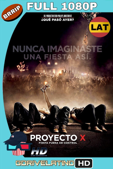 Proyecto X (2012) EXTENDED BRRip 1080p Latino-Ingles MKV