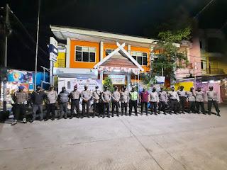 Jaga Kamtibmas Jelang Pilkada, Polres Pelabuhan Makassar Rutin Patroli Malam